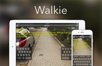 Walkie for iPhone and iPad